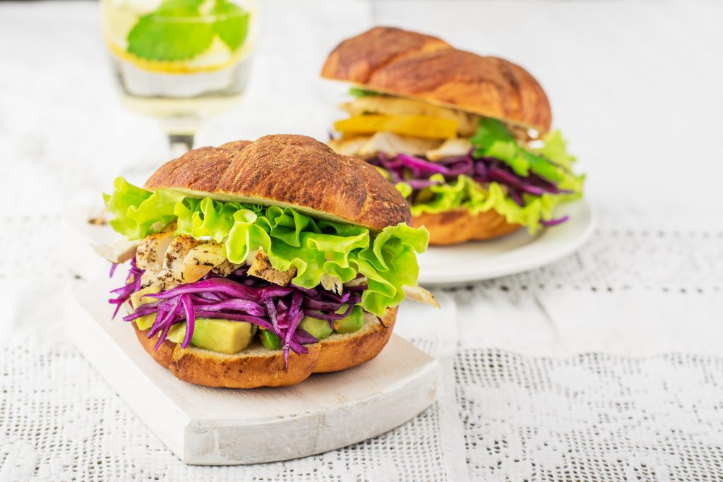 ciabatta chicken burger