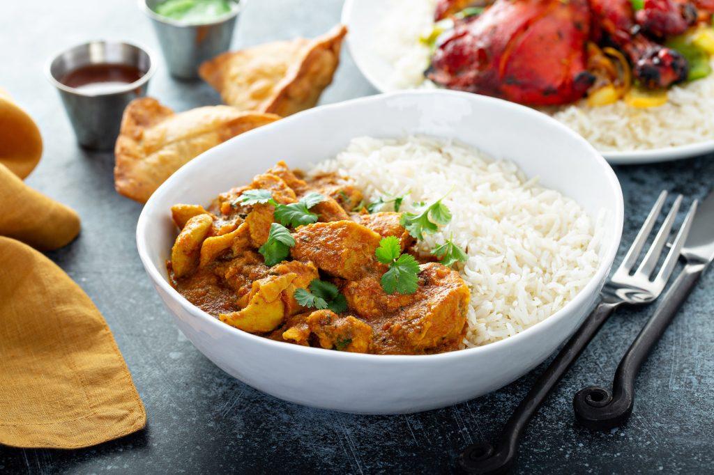 Chicken curry national curry week Beech Ridge Farm