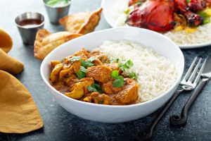 Chicken curry national curry week Beech Ridge Farm