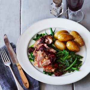 Duck breast with blackberry sauce recipe Beech Ridge Farm
