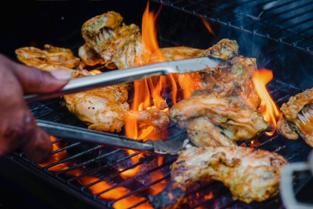 Chicken BBQ Beech Ridge Farm Somerset devon